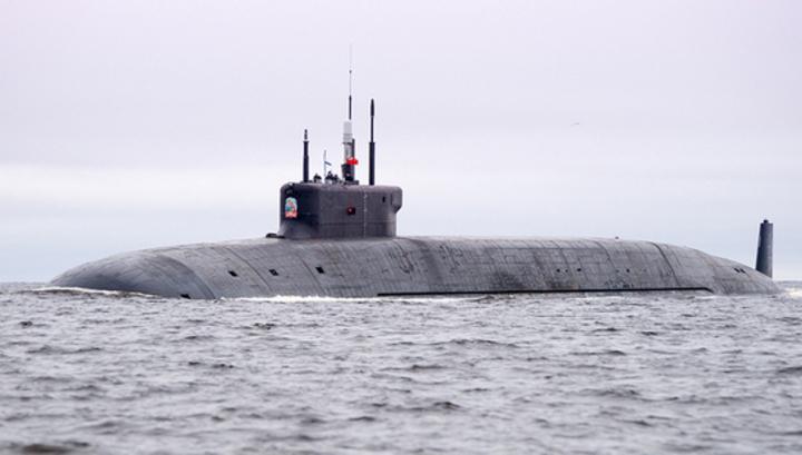 """Новейшая атомная подлодка """"Князь Владимир"""" завершила госиспытания"""