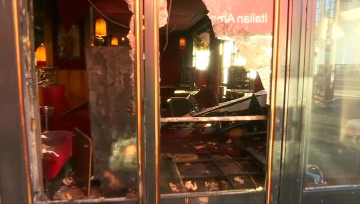 """Парижскую """"Ротонду"""", где отдыхали Шагал, Пикассо и Макрон, пытались сжечь"""