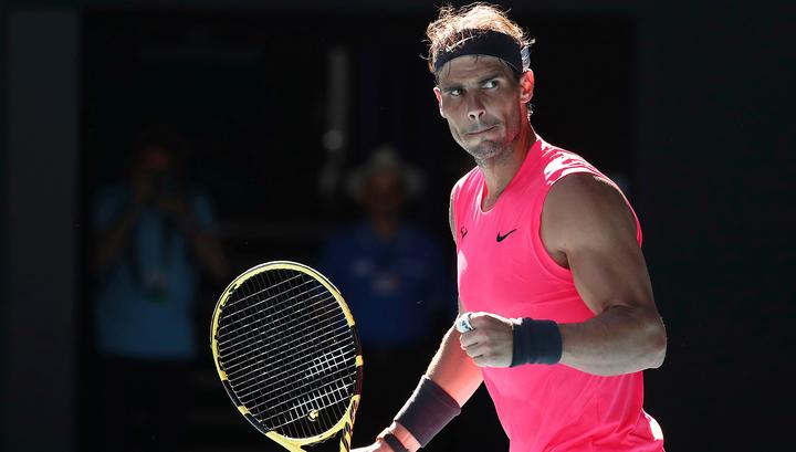 Рафаэль Надаль вышел в следующий круг Australian Open