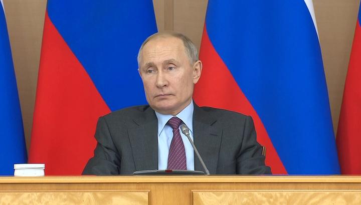 Путин: поправки в Конституцию не затронут самостоятельность местного самоуправления