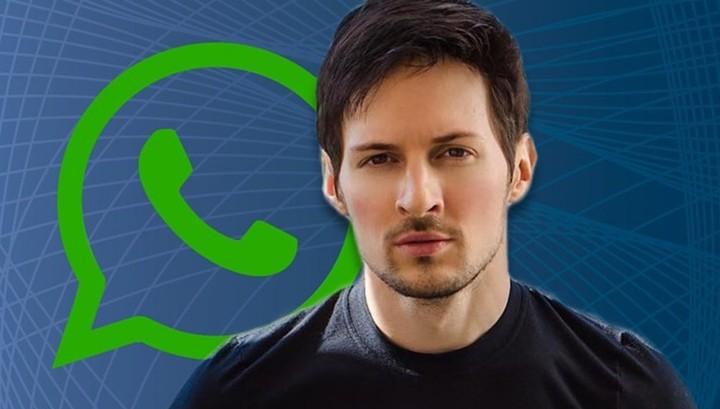 "Павел Дуров о взломанном WhatsApp: ""Я предупреждал"""