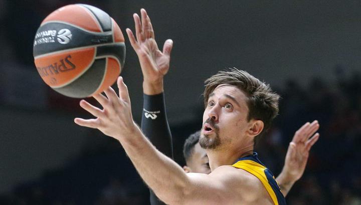 Алексей Швед признан самым ценным баскетболистом 26 тура Евролиги