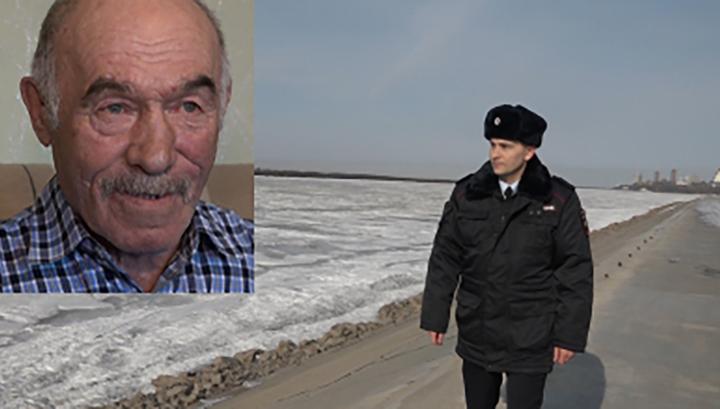 Майор полиции спас тонущего пенсионера в Хабаровске