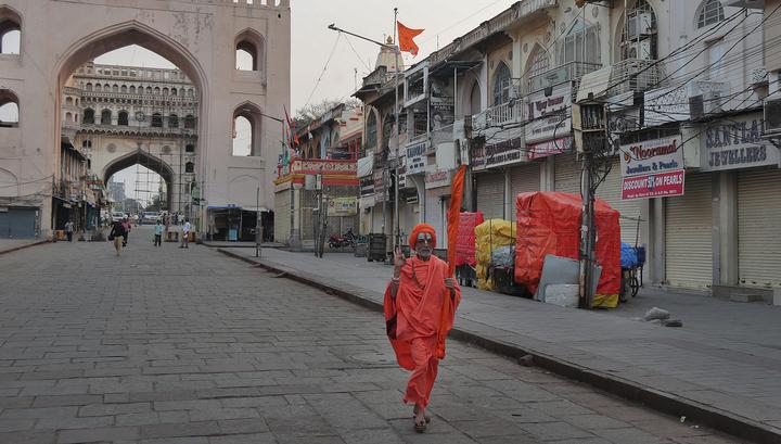 В Индии из-за коронавируса вводится режим строгой изоляции