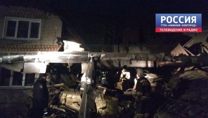 Следком возбудил дело по факту обрушения перекрытий жилого дома в Вачском районе