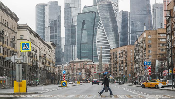 В Москве самый низкий уровень заболеваемости коронавирусом за 6 дней