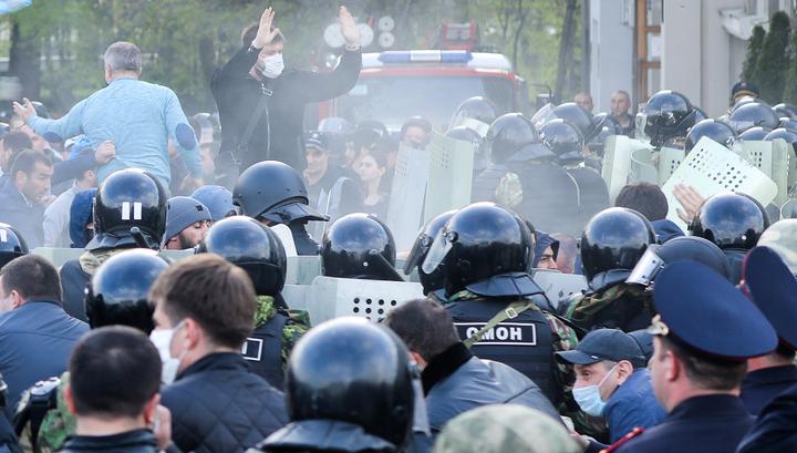 В Северной Осетии произошел всплеск заражений после несанкционированной акции