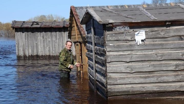 В Усть-Кубинском районе ввели режим ЧС из-за паводка