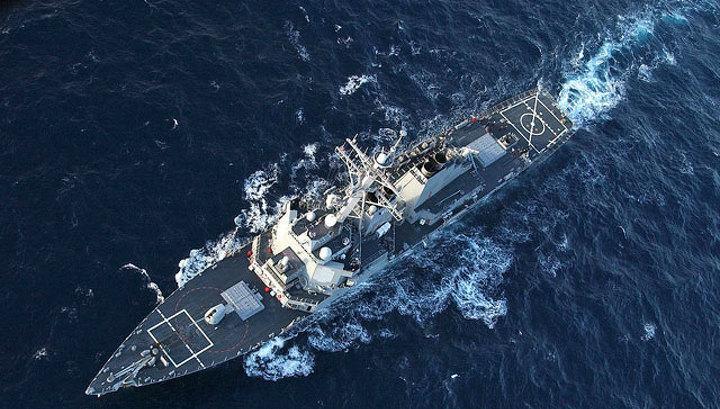 """За американским эсминцем в Черном море проследит сторожевой корабль """"Пытливый"""""""