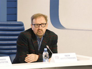 38-й ММКФ. Пресс-конференция в ТАСС. Петр Шепотинник. Фото Вадима Шульца