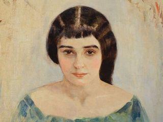 И. Пэн. Две кошечки (портрет Раисы Идельсон). 1908. Из собрания Алисы Лабас