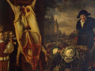 """""""Новый рынок в Амстердаме"""". Бартоломеус ван дер Хелст / Автор: hermitagemuseum.org"""