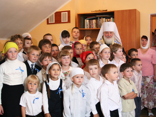 Посещение православной гимназии в Калининграде. 21 июля 2008 г. / Автор: Официальный сайт Московского Патриархата