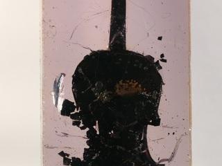 """Фернан Арман. """"Сожженная скрипка"""". 1966"""