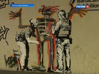 В Лондоне появились новые граффити «великого и ужасного» Бэнкси