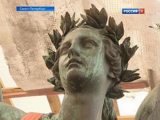 В Северной столице приступили к капитальному ремонту Колонн Славы