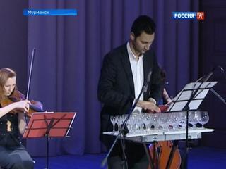 Александр Лемешев дал концерт на «стеклянной арфе»