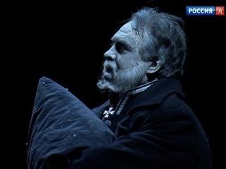 На сцене Московского художественного театра - спектакль «Губернатор»
