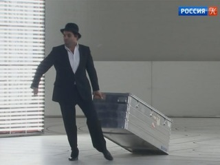 «Немецкий МХАТ» привез на гастроли в Москву спектакль «Берлин, Александерплац»