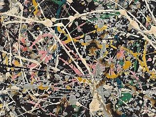 Картину Джексона Поллока отреставрируют в музейном зале