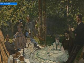 ГМИИ имени Пушкина показывает свою коллекцию работ импрессионистов в Токио