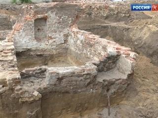 В Воронеже найдены фрагменты древней крепости XVI - XVII века
