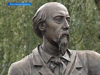 В селе Вятское Ярославской области установили памятник Некрасову