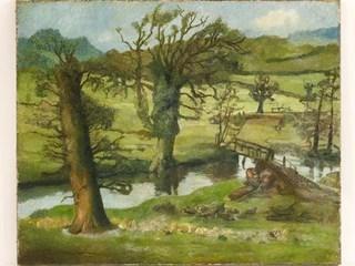 Пейзаж Люсьена Фрейда выставлен на аукцион в Англии за $40 тыс
