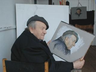 В возрасте 96 лет ушел из жизни художник Анатолий Левитин