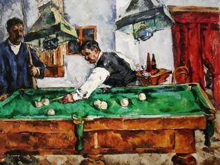 Картина Кончаловского «Игра на бильярде» будет представлена на аукционе в Лондоне