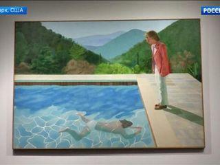 В США картину Дэвида Хокни «Портрет художника» купили за $90,3 млн