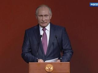 Торжественный вечер Санкт-Петербургского форума открыл президент России Владимир Путин