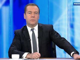 Дмитрий Медведев встретился с ведущими информационно-аналитических программ в Останкино