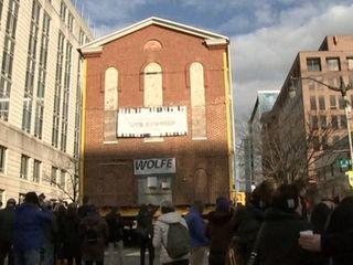 Переезд старейшей синагоги Вашингтона и другие события в мире культуры