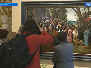 Эрмитаж представит картину Брейгеля младшего «Проповедь Иоанна Крестителя» после реставрации