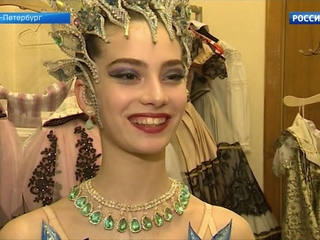 Ученики Академии имени Вагановой репетируют выпускной спектакль