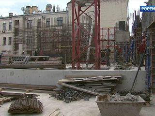 В Москве идёт реконструкция здания Детского музыкального театра юного актера