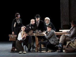 Театр им. Вахтангова отправился с большими гастролями в Париж