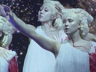 """На фестивале """"Территория"""" прошла премьера спектакля """"Октавия. Трепанация"""""""