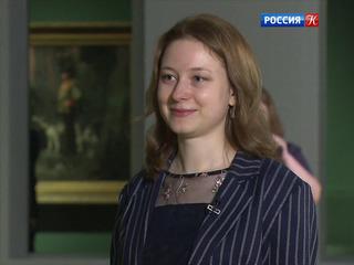 Интервью с помощником куратора выставки В. Поленова Дарьей Манучаровой