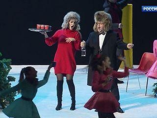 Александр Титель к своему 70-летию поставил в МАМТ оперетту «Зимний вечер в Шамони»