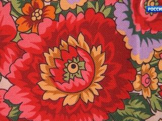 Коллекцию современных павловопосадских шалей представили в Российской академии художеств