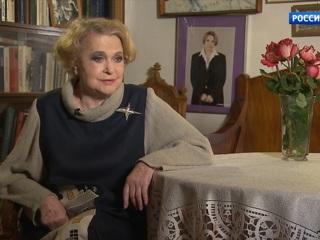 Народная артистка РСФСР Валентина Талызина отмечает 85-летний юбилей