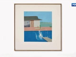 Картину Дэвида Хокни «Всплеск» продали в Лондоне почти за $30 млн