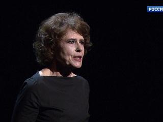 Фанни Ардан выступила с моноспектаклем «Хиросима, любовь моя» в Театре Табакова