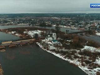 В Псковской области идёт реконструкция двух цепных мостов – объектов культурного наследия