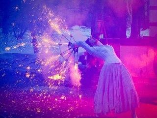 """Выступление театра """"Огненные люди"""" / Автор: Фото с сайта facebook.com"""