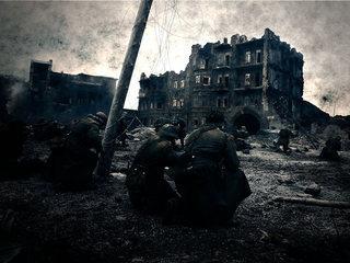 "Кадр из фильма ""Сталинград"""