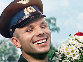 """Кадр из док. фильма """"Юрий Гагарин. Семь лет одиночества"""""""