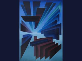 """В.Акулинин """"Пространственная композиция"""", 1999"""